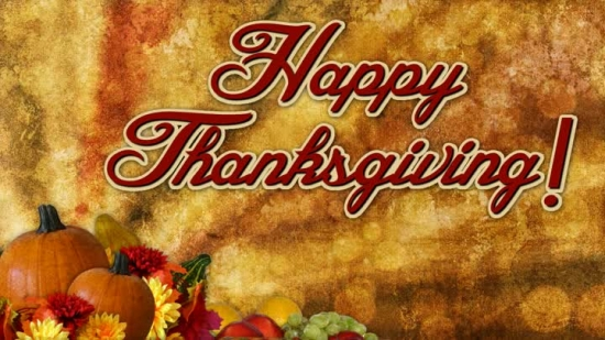 Fall Wallpaper With Pumpkins Thanksgiving Title Background 1 Vertical Hold Media