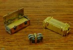 Griffon Model set extras: two kinds of 2cm Flak ammo boxes