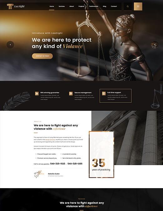 LawSight - <cite>Home 01</cite>
