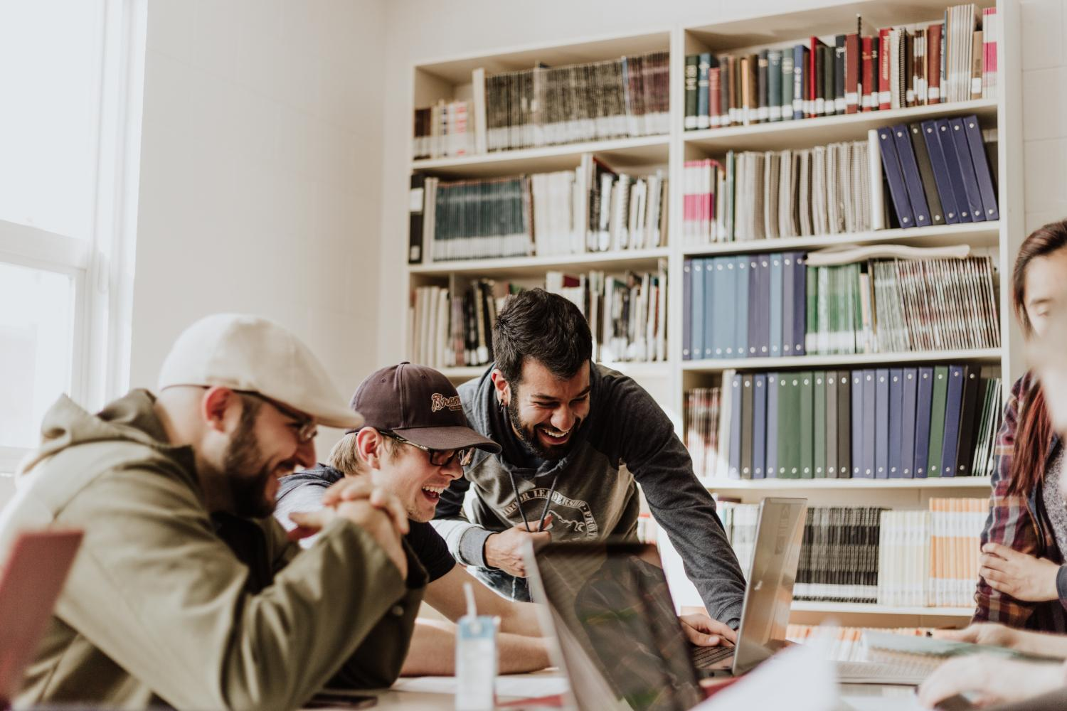 hight resolution of companies may be a friendly workspace for young employees