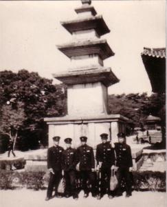 불국사 석가탑에서 김선일,장맹열,심인섭,이종원과 1964년
