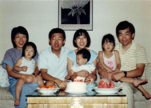 채인돈가족과 함께 Columbus, Ohio 1987