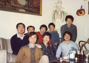 매디슨 위스컨신 주립대 중앙고 동창 후배들과, 1988년 가을