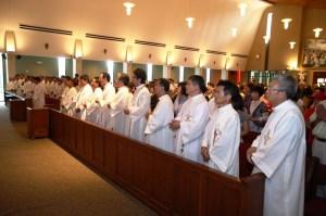 북미주 한인사제 중 40 신부님의 미사
