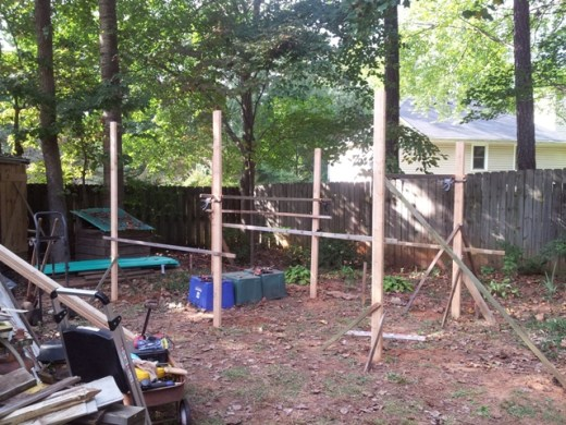 open shed framing 2