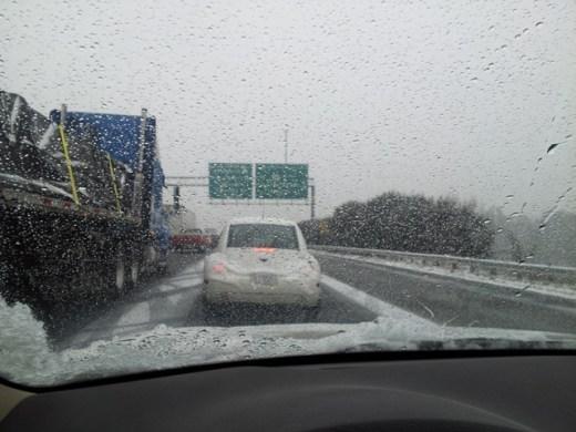 I-285 west@Buford Hwy에서 시작된 19시간 드라이브의 시작