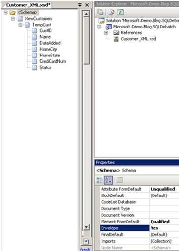 envelope schema example in biztalk