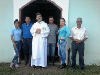 En una aldea de la parroquia Santiago Apóstol de Cuyamel