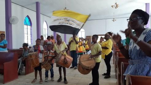 Fiesta de la comunidad garífuna