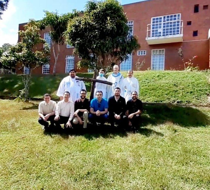 Equipo formativo y seminaristas