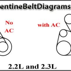 1996 Honda Accord Engine Diagram Trailer Wiring 7 Pin 5 Wires 2013 Civic Belt Diagrams Schematic Serpentine Source 96