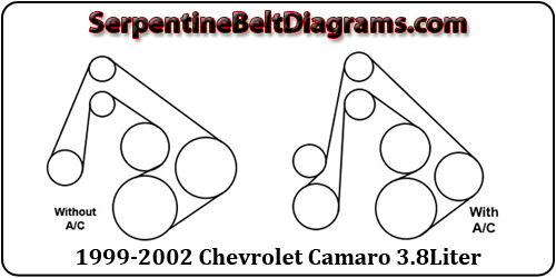 2002 ford windstar serpentine belt diagram john deere l120 pto wiring 1999-2002 chevrolet camaro