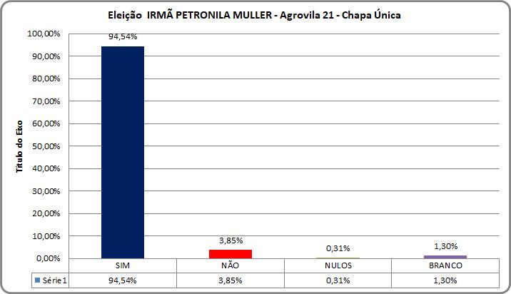Gestão Democrática – Processo Eleitoral na Escola Irmã Petronila Muller.