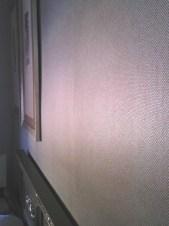 Cuadros y papel pintado cabecero de cama dormitorio