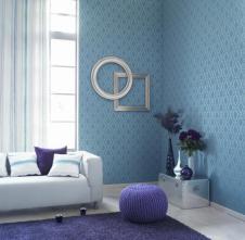 Azul, añil, plata y blanco, una elegante combinación