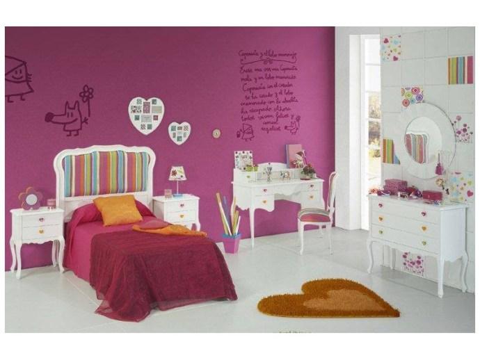 Dormitorio infantil lacado