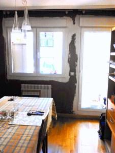 Como rematar una pared tras un cambio de ventanas