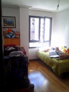 Vista dormitorio auxiliar ANTES