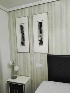 El toque m gico de la decoraci n personalizada reformas y decoraci n de interiores en le n - Papel pintado cabecero cama ...