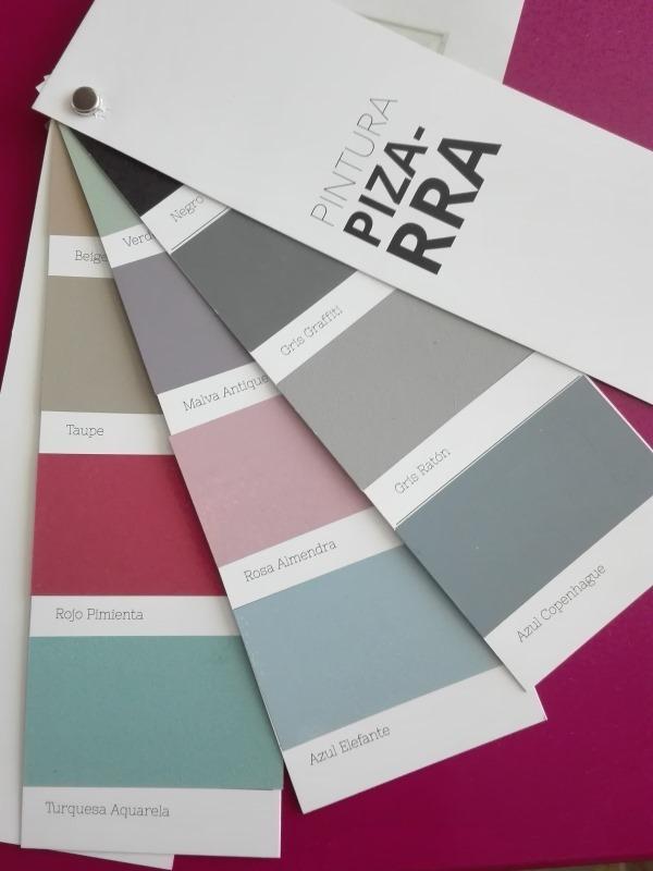 Colores de pintura pizarra