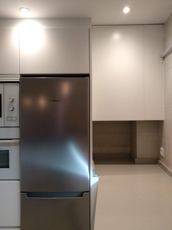 Muebles de cocina, mueble a medida para caldera – Reformas y ...