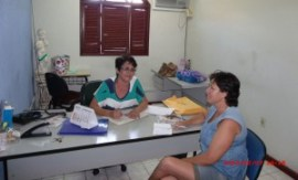 Coordenadora Projeto Costurart Rita de Cássia Macedo Barone