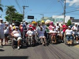 Inicio Marcha acessibilidade em Jacaraipe