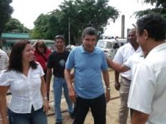 Prefeito Sergio Vidigal e Madalena Santana