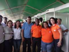 Prefeito Sergio Vidigal, Vice-Prefeita Madalena e Equipe Defesa Civil