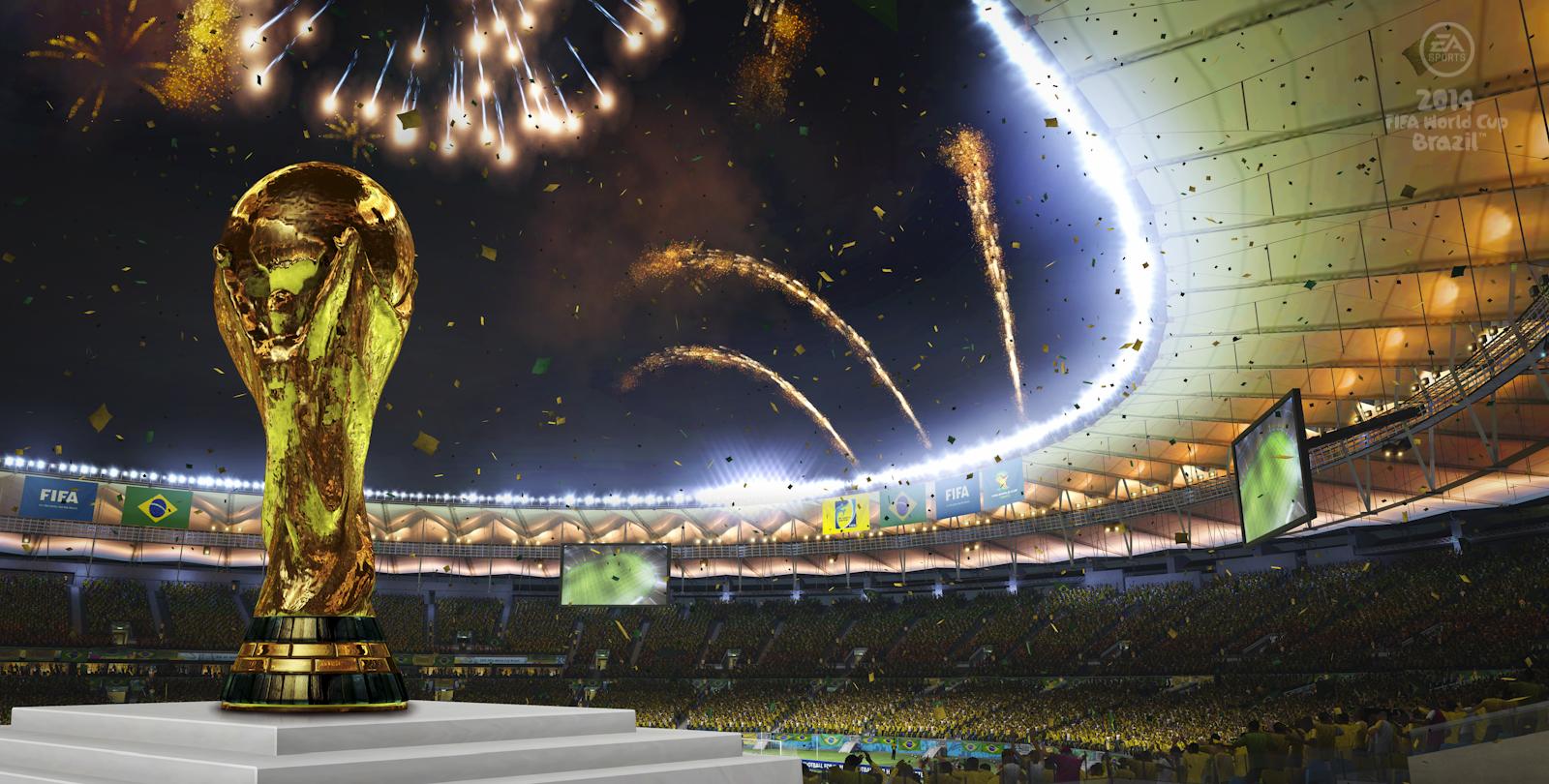 """Eu quero que o """"Brazil"""" realize a maior das Copas do Mundo!"""
