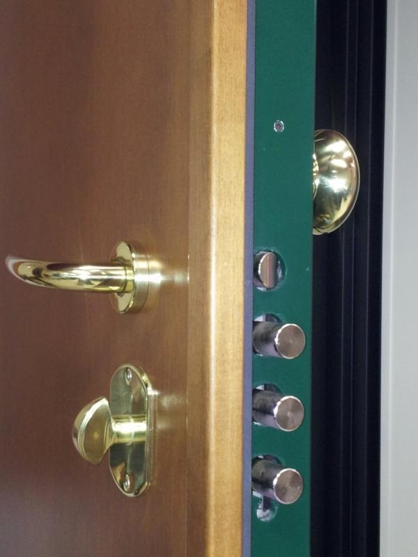 Porte blindate classe 5  con serrature europee antieffrazione