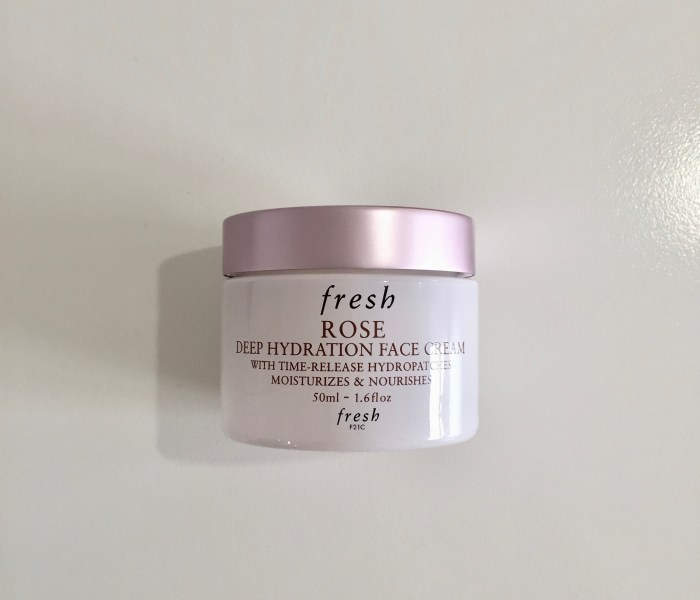 S Review:fresh Rose Deep Hydration Face Cream
