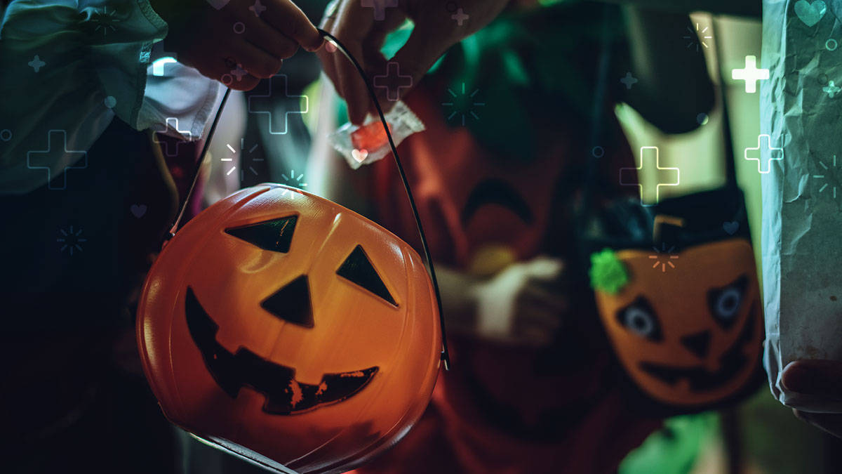 Dulces en Halloween