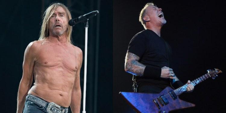 Metallica ve Iggy Pop