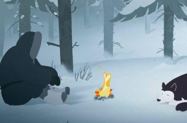 Jack London'ın To Build a Fire Hikayesine Animasyon