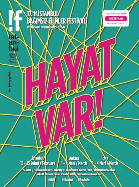 "!f İstanbul 2018 ""Hayat Var!"""