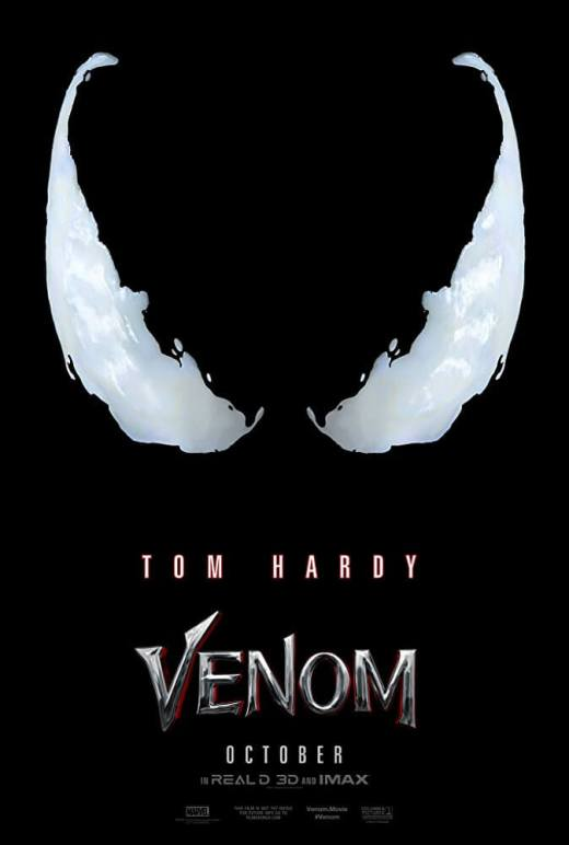 Tom Hardy Venom Movie Poster