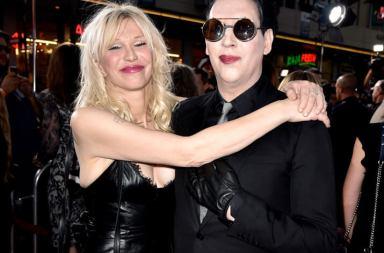 """Marilyn Manson ve Courtney Love """"Tattooed in Reverse"""" Klibinde"""