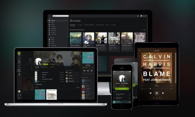 Spotify, Line-In