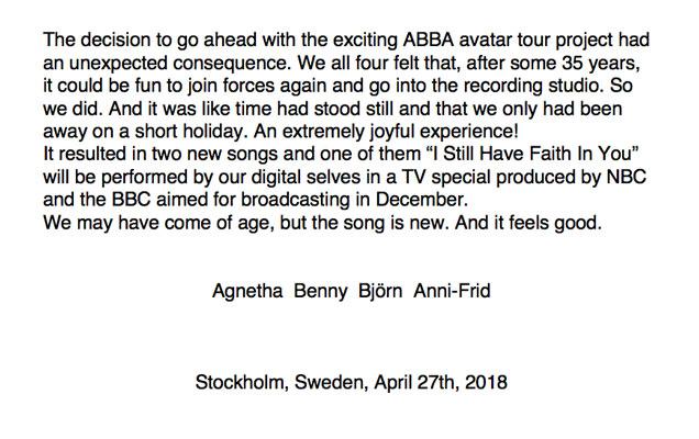 ABBA Letter