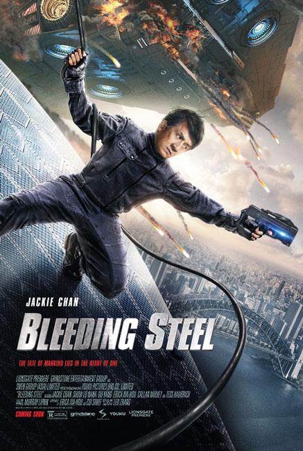 Bleeding Steel Jackie Chan Poster