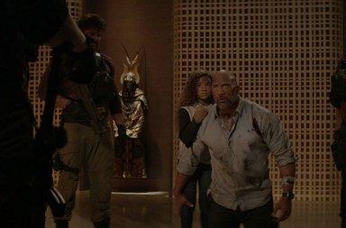 Dwayne Johnson'in Yeni Filmi Skyscraper'dan Fragman