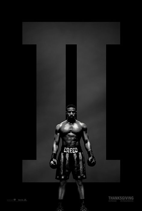 Creed II Movie Poster and Trailer Rocky Balboa, Sylvester Stallone