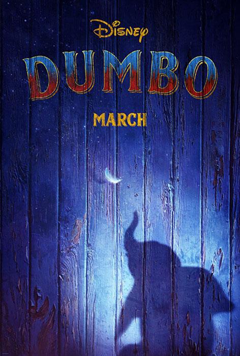 Tim Burton Dumbo Movie Poster