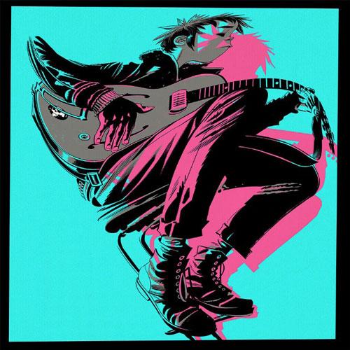 Gorillaz The Now Now Album Cover