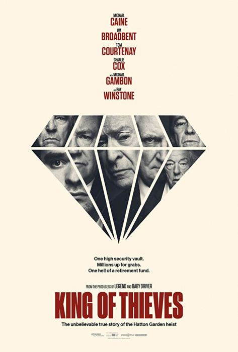 King Of Thieves 2018 Movie Poster