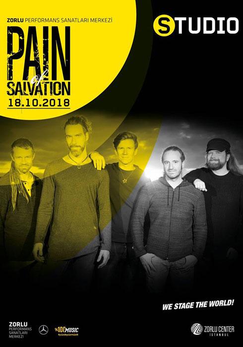Pain of Salvation 18 Ekim Zorlu PSM Studio