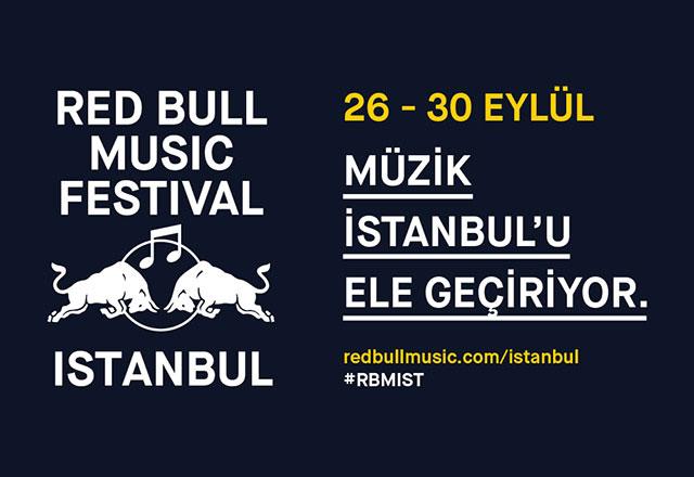 Red Bull Music Festival 26-30 Eylül İstanbul
