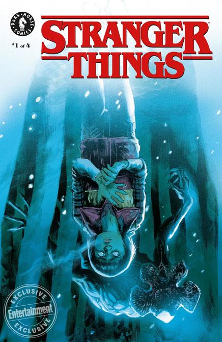 Stranger Things Comic Book Dark House Mini Series 5