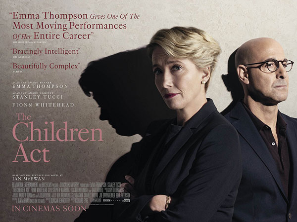 Oscar Ödüllü Emma Thompson'ın The Children Act Poster
